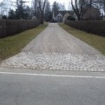 Oil and Stone driveway Fairfield CT